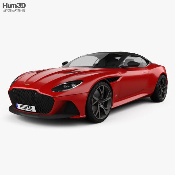 Aston Martin DBS Superleggera 2019 - 3DOcean Item for Sale