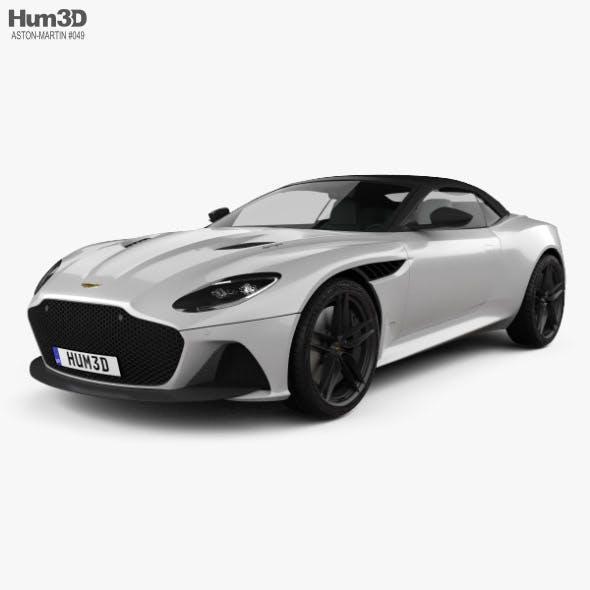 Aston Martin DBS Superleggera Volante 2020 - 3DOcean Item for Sale