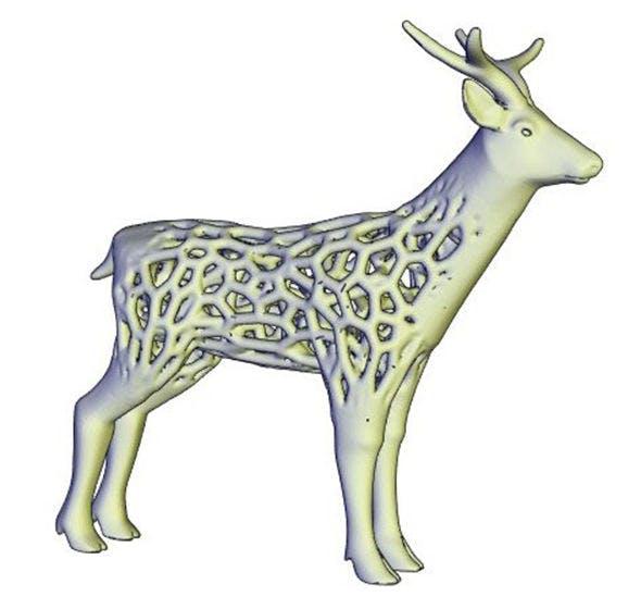voronoi deer - 3DOcean Item for Sale