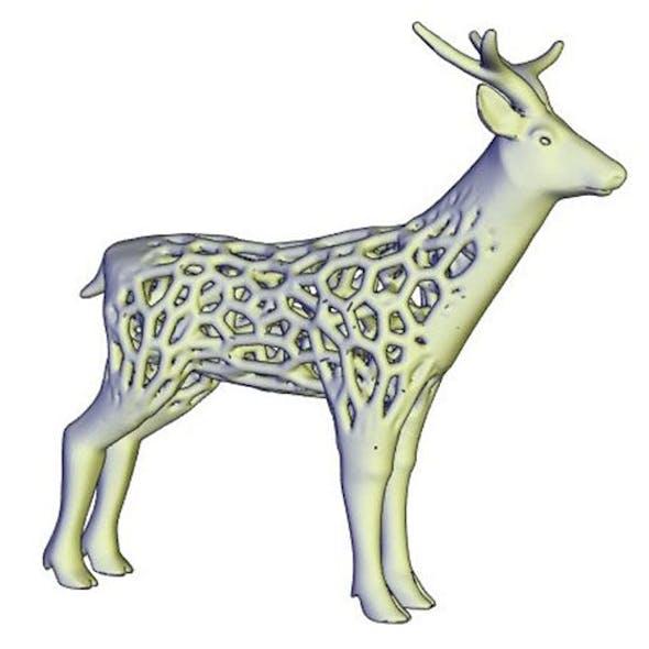 voronoi deer
