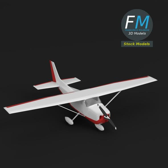 Toy personal use airplane