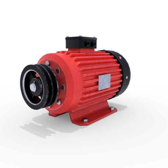 Electric Motor 6 - 3DOcean Item for Sale