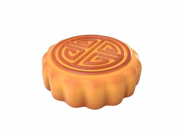 Moon Cake - 3DOcean Item for Sale