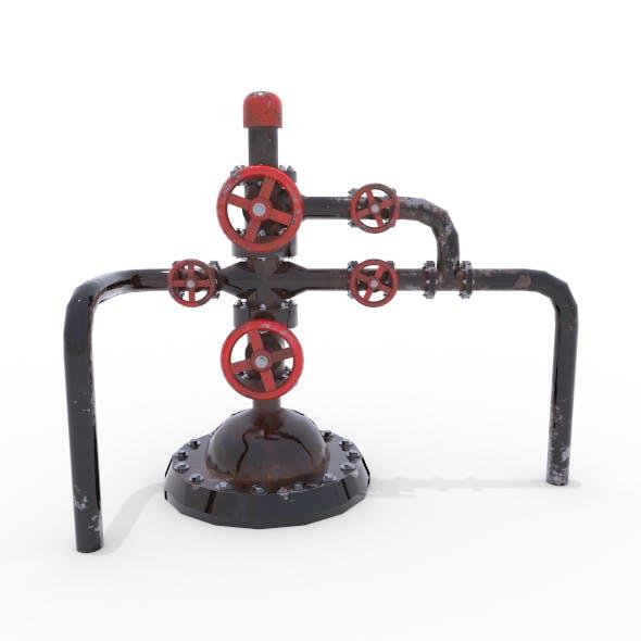 Oil Pumpjack Wellhead 2