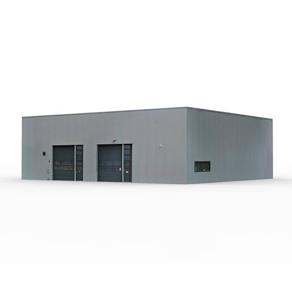 Industrial Building 1 - 3DOcean Item for Sale