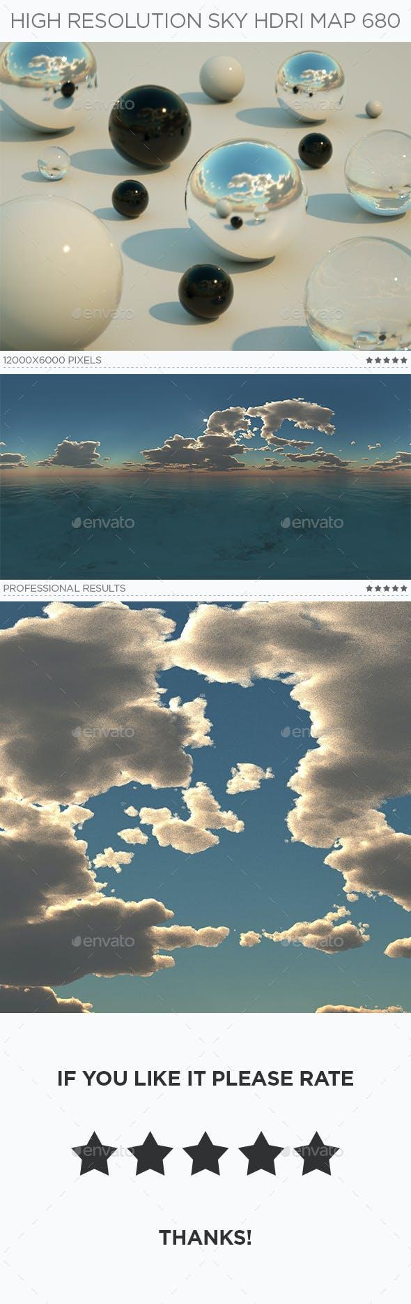 High Resolution Sky HDRi Map 680 - 3DOcean Item for Sale