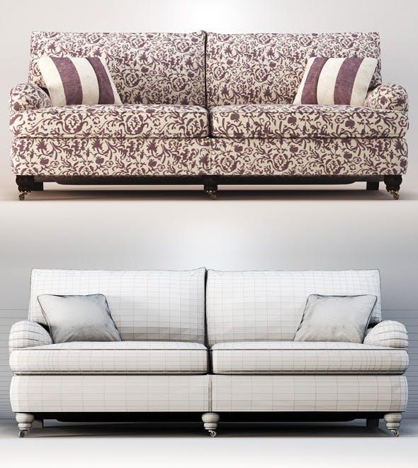 Quality 3dmodel of sofa Lansdowne. Duresta - 3DOcean Item for Sale