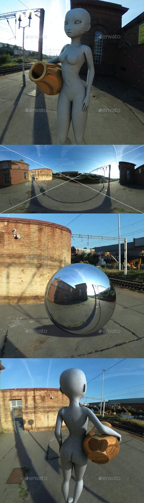 Morning UK Train Station HDRI - 3DOcean Item for Sale