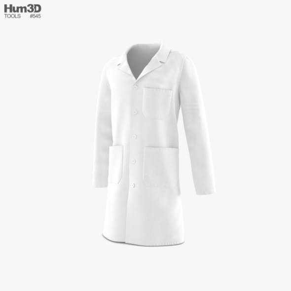 Lab Coat - 3DOcean Item for Sale