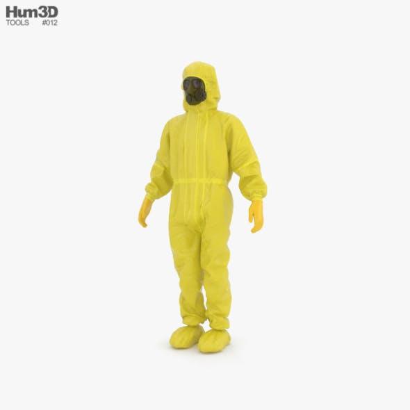 Hazmat Worker - 3DOcean Item for Sale
