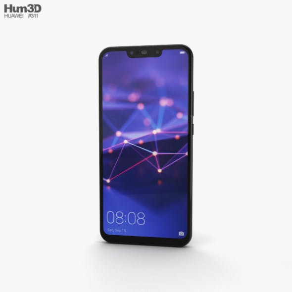 Huawei Mate 20 lite Black - 3DOcean Item for Sale