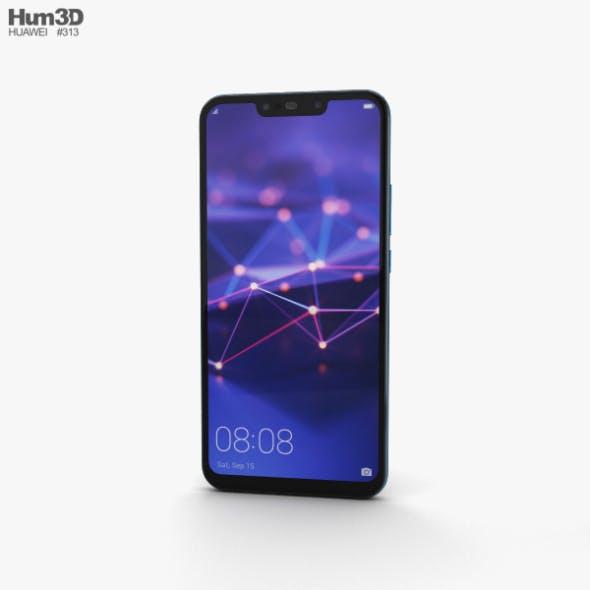 Huawei Mate 20 lite Sapphire Blue - 3DOcean Item for Sale