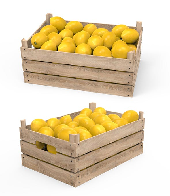 Lemon Box - 3DOcean Item for Sale