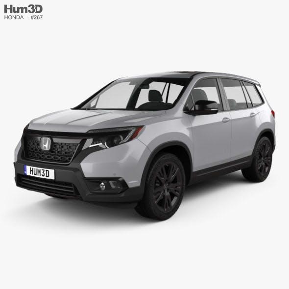 Honda Passport Sport 2019 - 3DOcean Item for Sale