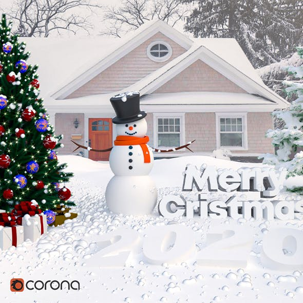 Merry Christmas 2020 - 3DOcean Item for Sale