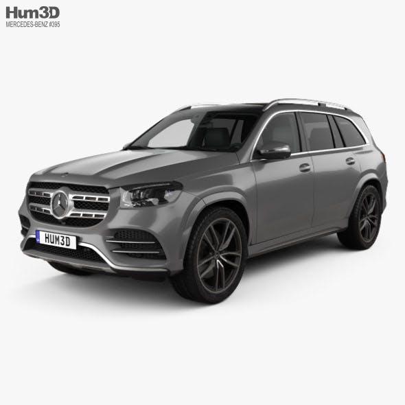 Mercedes-Benz GLS-class AMG-Line 2019 - 3DOcean Item for Sale