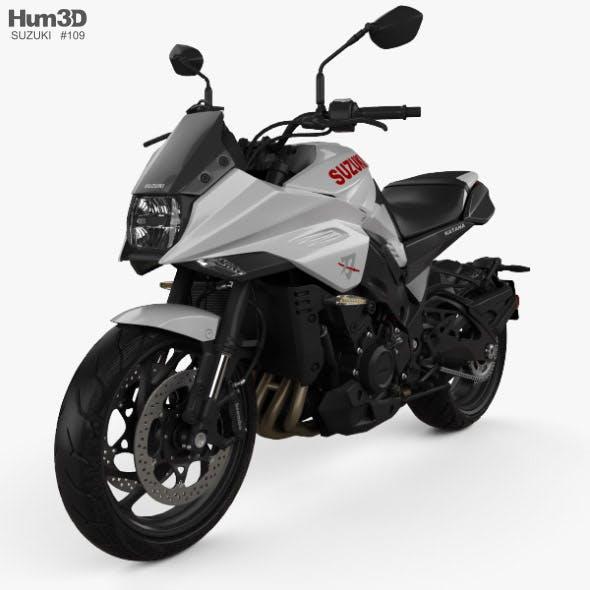 Suzuki Katana 1000 2019 - 3DOcean Item for Sale