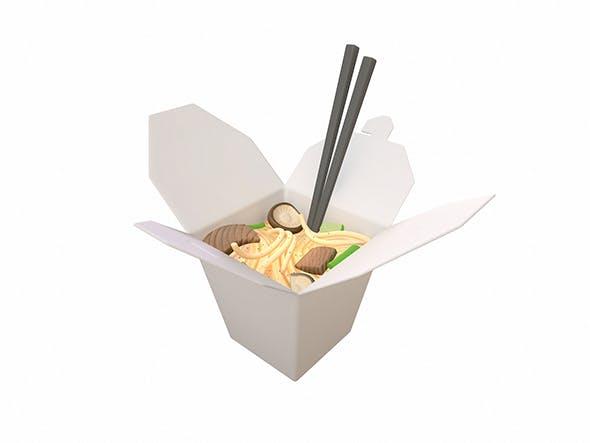 Noodle Box - 3DOcean Item for Sale