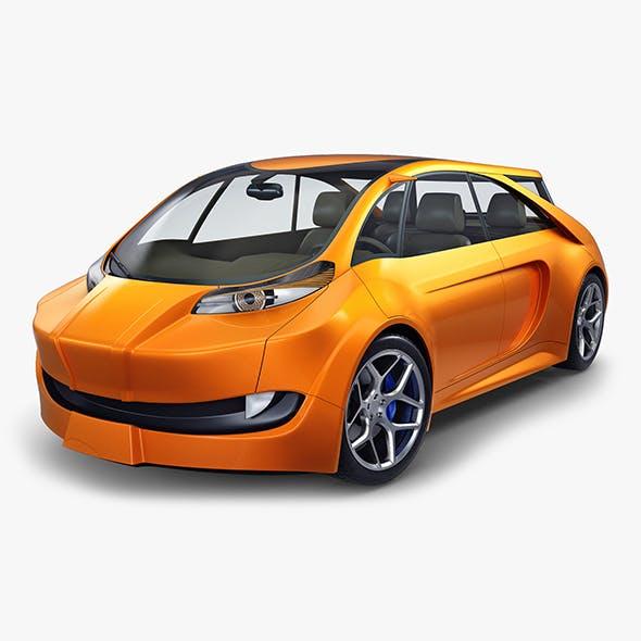 Generic Electric Concept Car - 3DOcean Item for Sale
