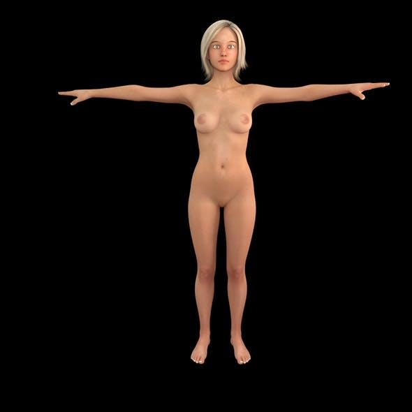 Women Rigged Model