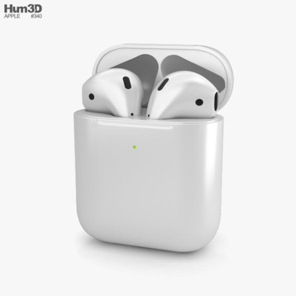 Apple AirPods 2nd gen - 3DOcean Item for Sale