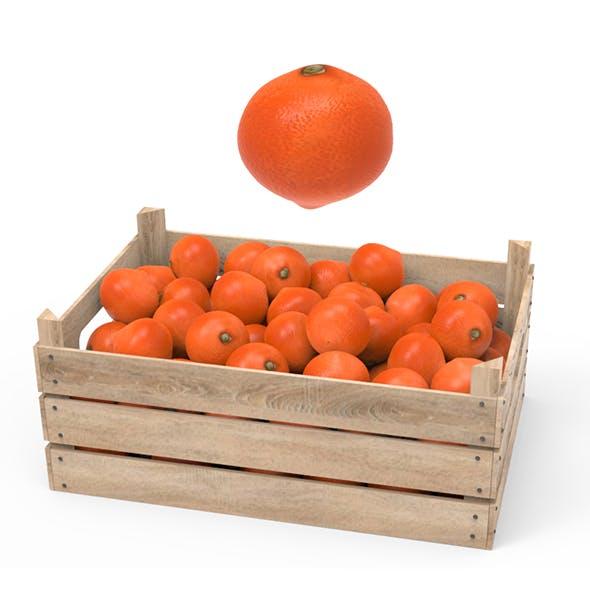 Tangerine Box - 3DOcean Item for Sale