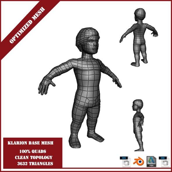 Klarion Base Mesh - 3DOcean Item for Sale