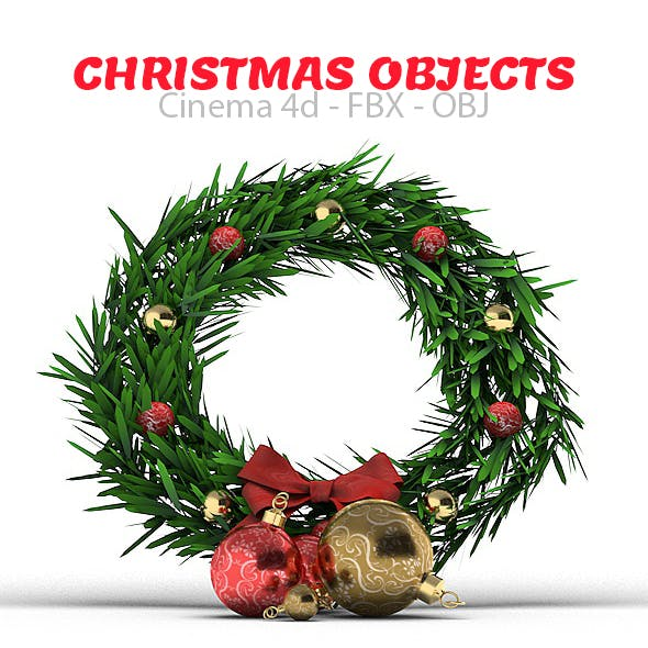 Christmas Objects 3D Models