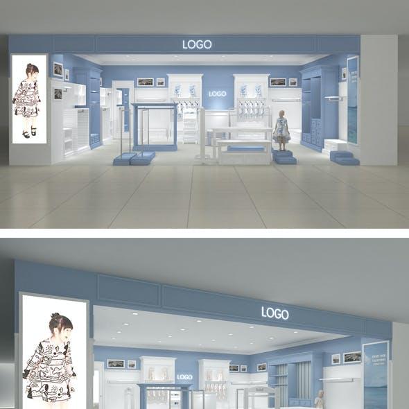 Ocean style children's clothing store