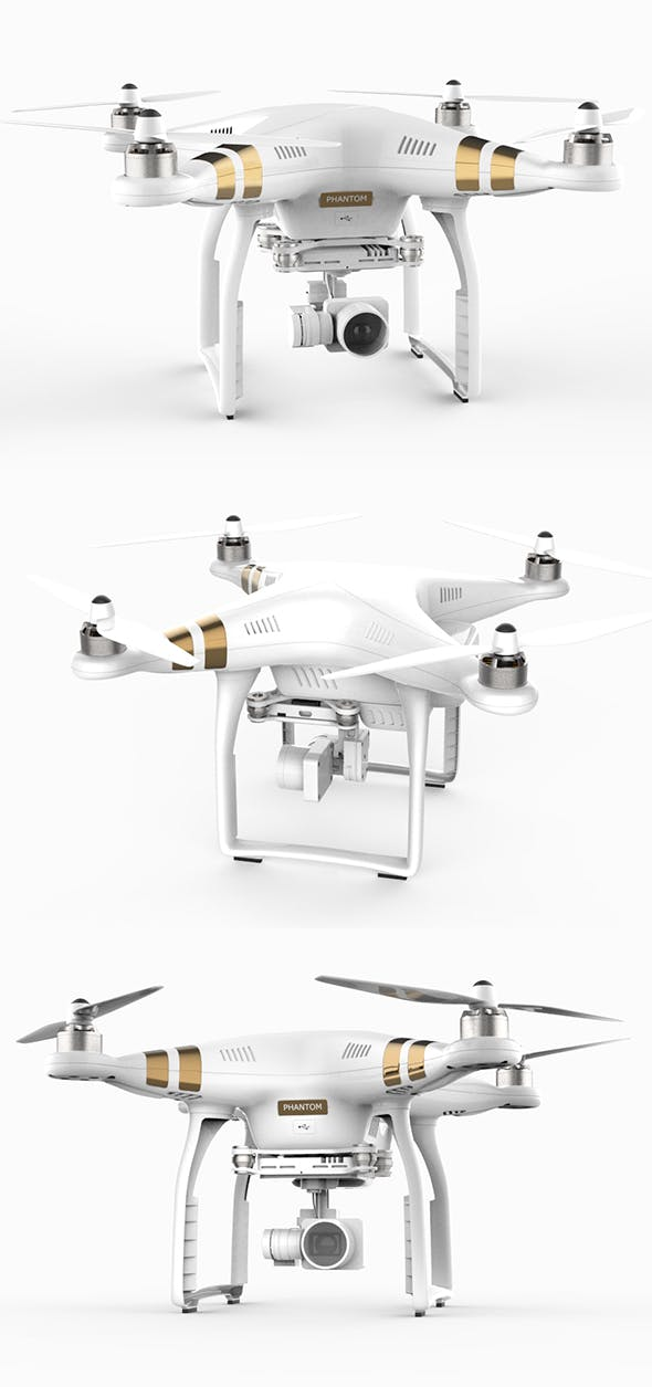 DJI Phantom 4 - 3DOcean Item for Sale