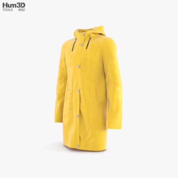 Raincoat - 3DOcean Item for Sale