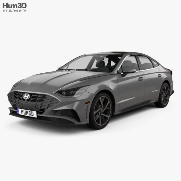 Hyundai Sonata US-spec 2019 - 3DOcean Item for Sale