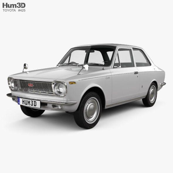 Toyota Corolla 2-door sedan 1966 - 3DOcean Item for Sale