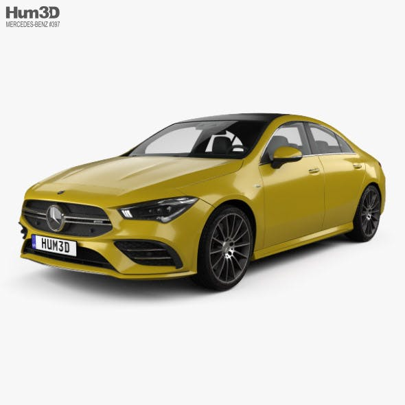 Mercedes-Benz CLA-class AMG 2019 - 3DOcean Item for Sale