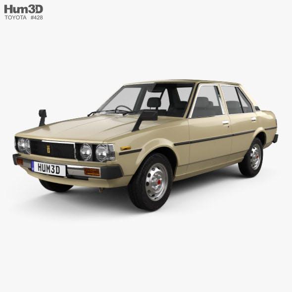 Toyota Corolla sedan 1979 - 3DOcean Item for Sale