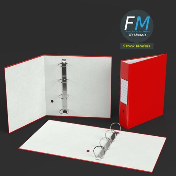 Big ring binders - 3DOcean Item for Sale