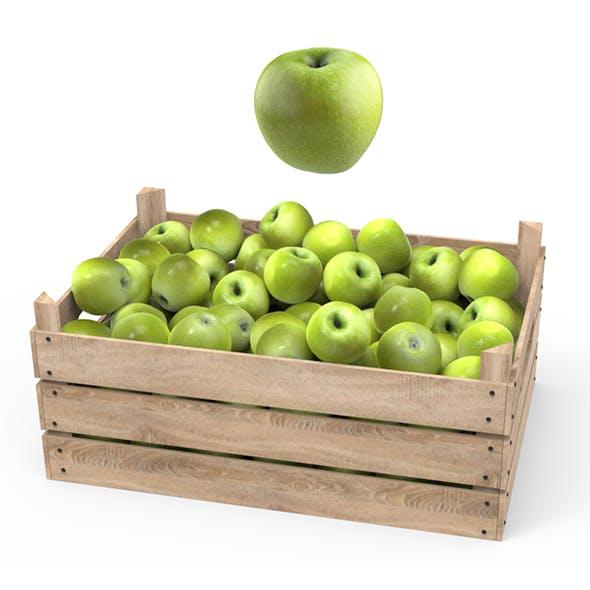Green Apple Box - 3DOcean Item for Sale