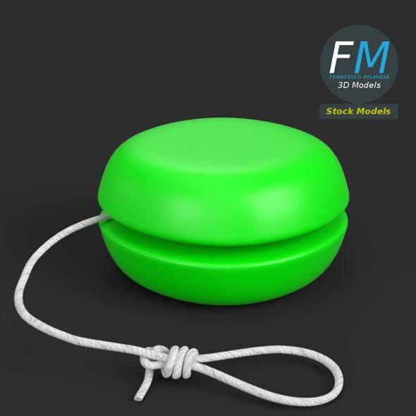 Yo-yo toy - 3DOcean Item for Sale