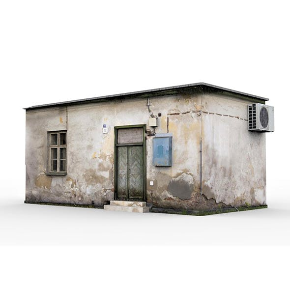 Old Slum House 1 - 3DOcean Item for Sale