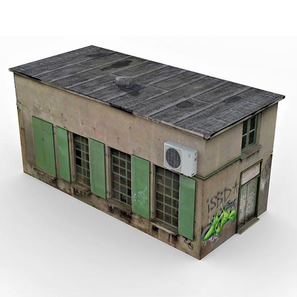 Old Slum House 2 - 3DOcean Item for Sale