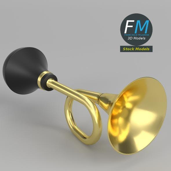 Brass vehicle horn