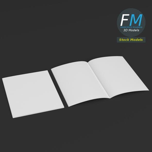 Brochure mockups - 3DOcean Item for Sale