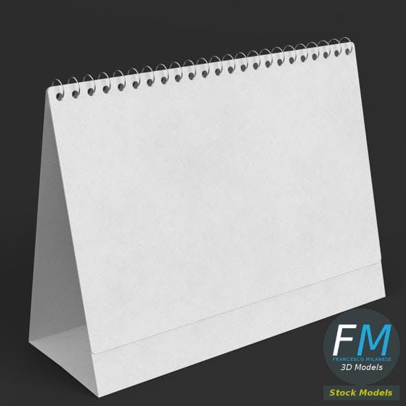 Desktop calendar template - 3DOcean Item for Sale