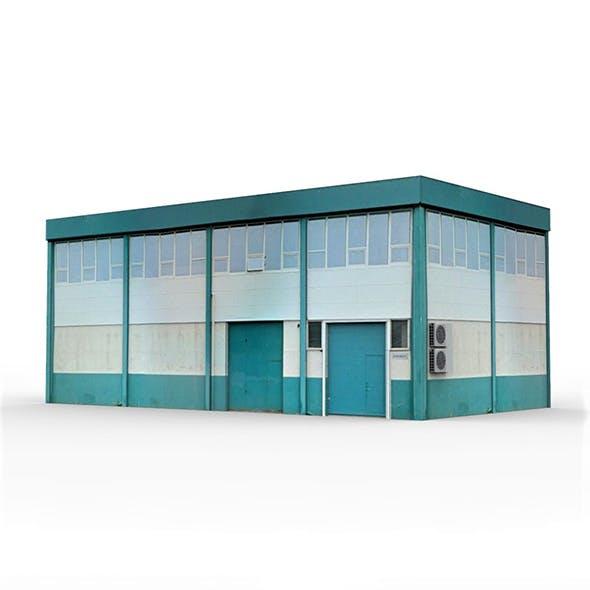 Industrial Building 3 - 3DOcean Item for Sale