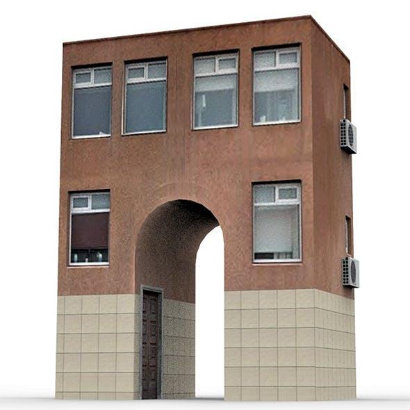 European Building 1 - 3DOcean Item for Sale