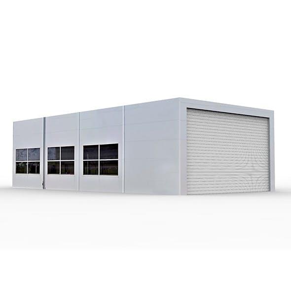 Garage Building 1 - 3DOcean Item for Sale