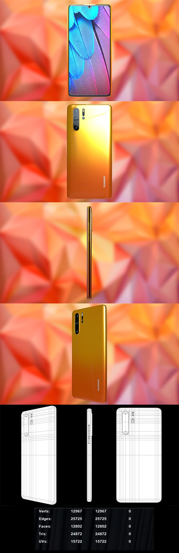 Huawei p30 Pro - 3DOcean Item for Sale