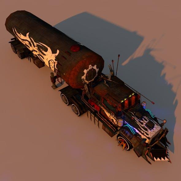 Battle Truck 1 - 3DOcean Item for Sale