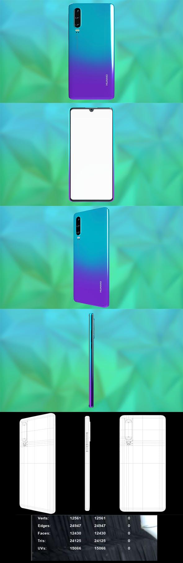 Huawei p30 Lite - 3DOcean Item for Sale