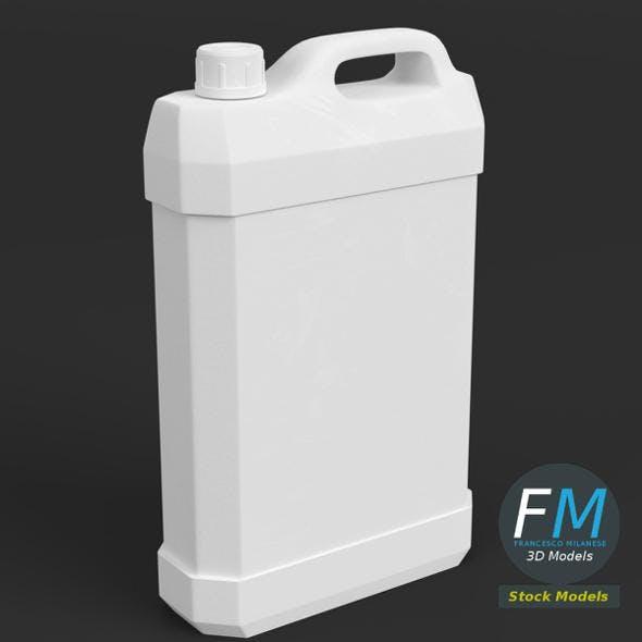 Gallon plastic jug - 3DOcean Item for Sale